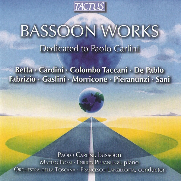 Bassoon works - dedicated to Paolo Carlini