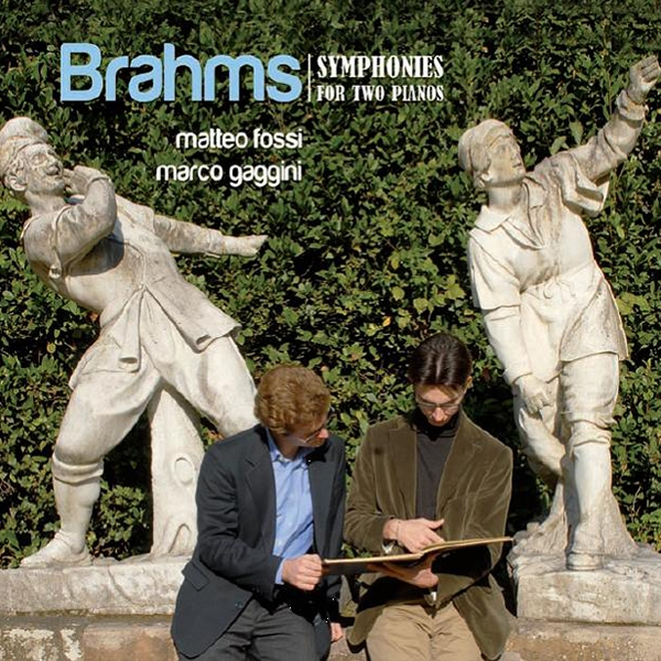 Brahms - Symphonies for two pianos (2 cd)