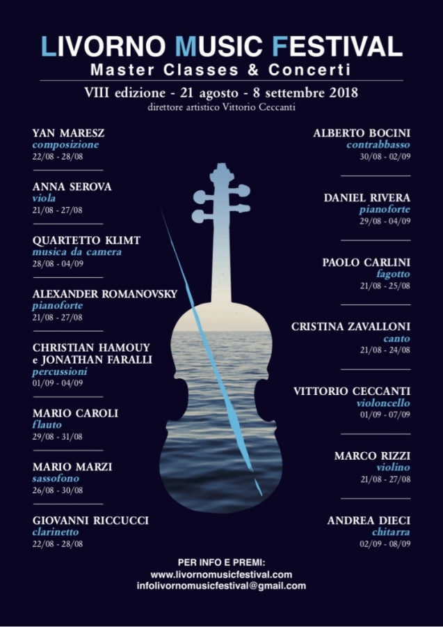 Masterclass di musica da camera del Quartetto Klimt