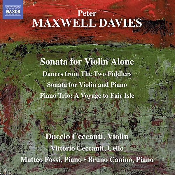 Peter Maxwell Davies: works for violin